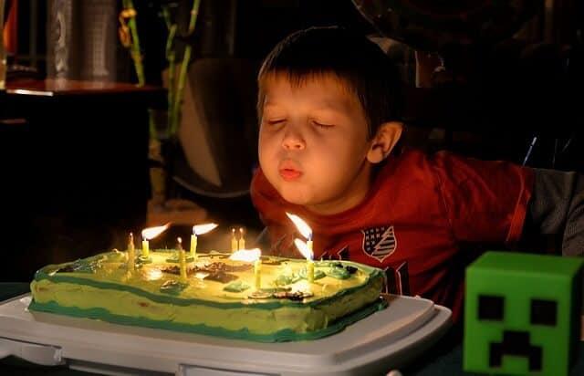 ימי הולדת לבנים
